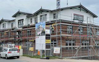 Wohn- und Geschäftshaus - Bauphase