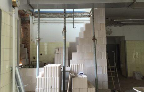 Einbau mehrerer Aufzüge